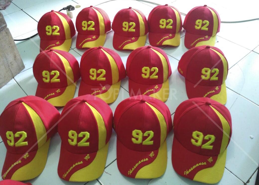 Topi promosi untuk keperluan event dan souvenir perusahaan